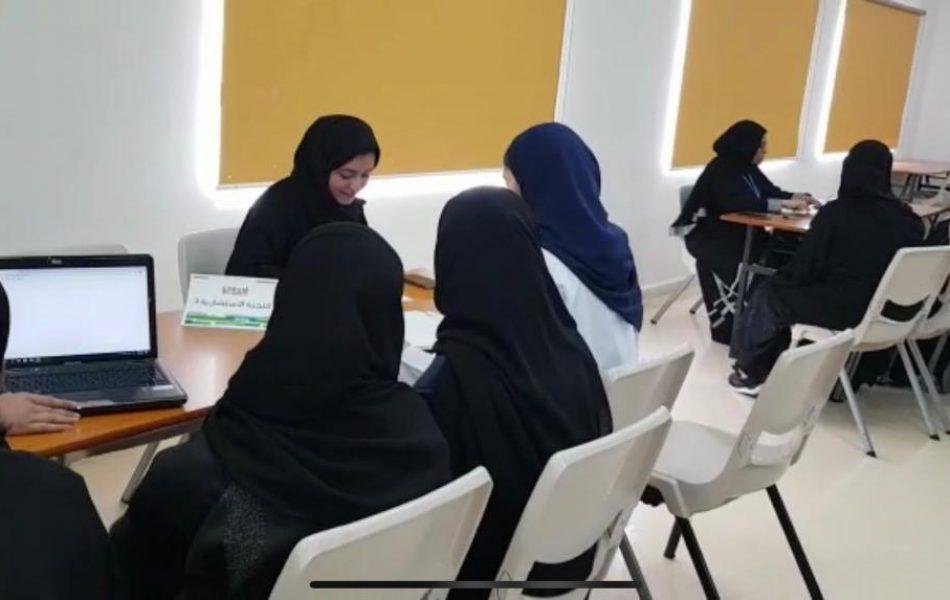 Workshop at Al Eman School